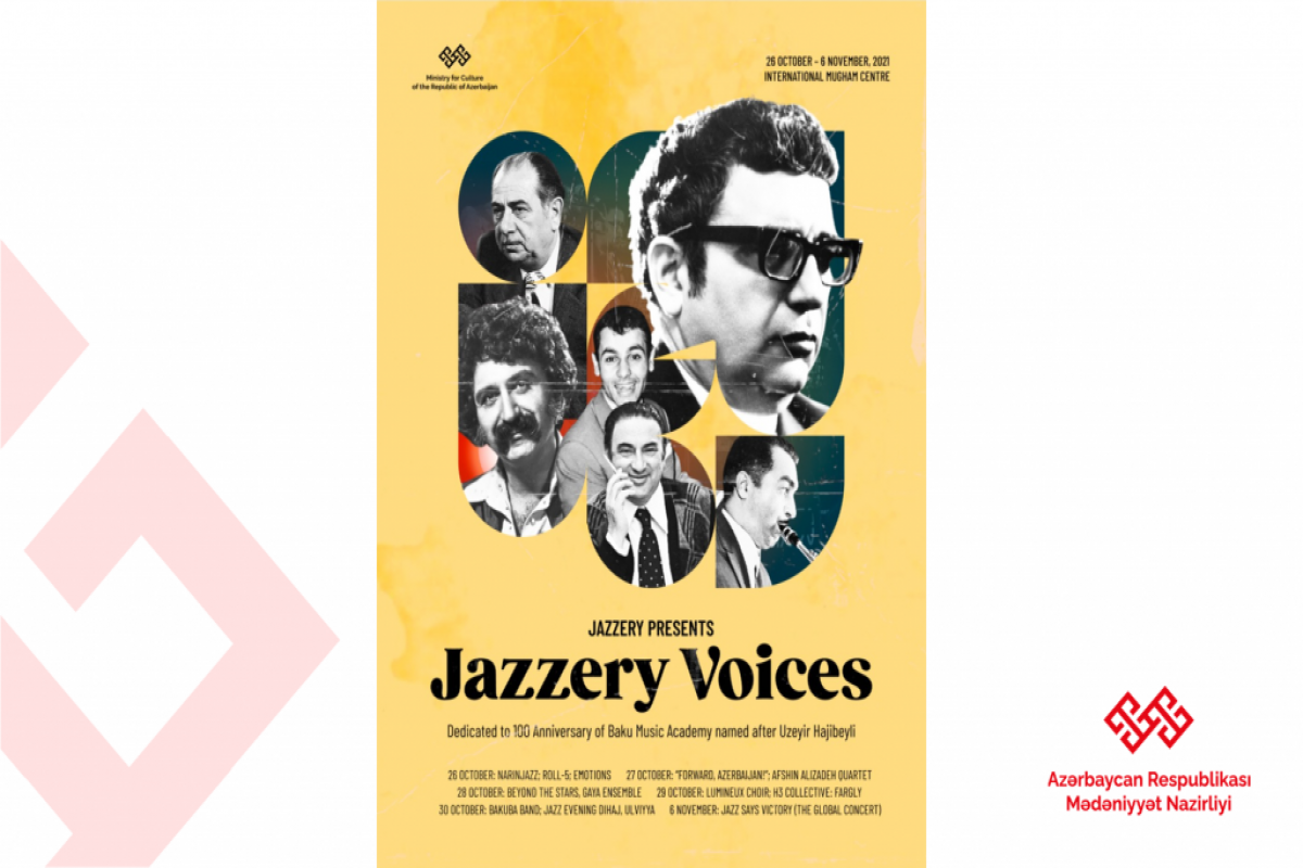 """Bakıda """"Jazzery Voices"""" layihəsi çərçivəsində silsilə tədbirlər təşkil olunacaq"""