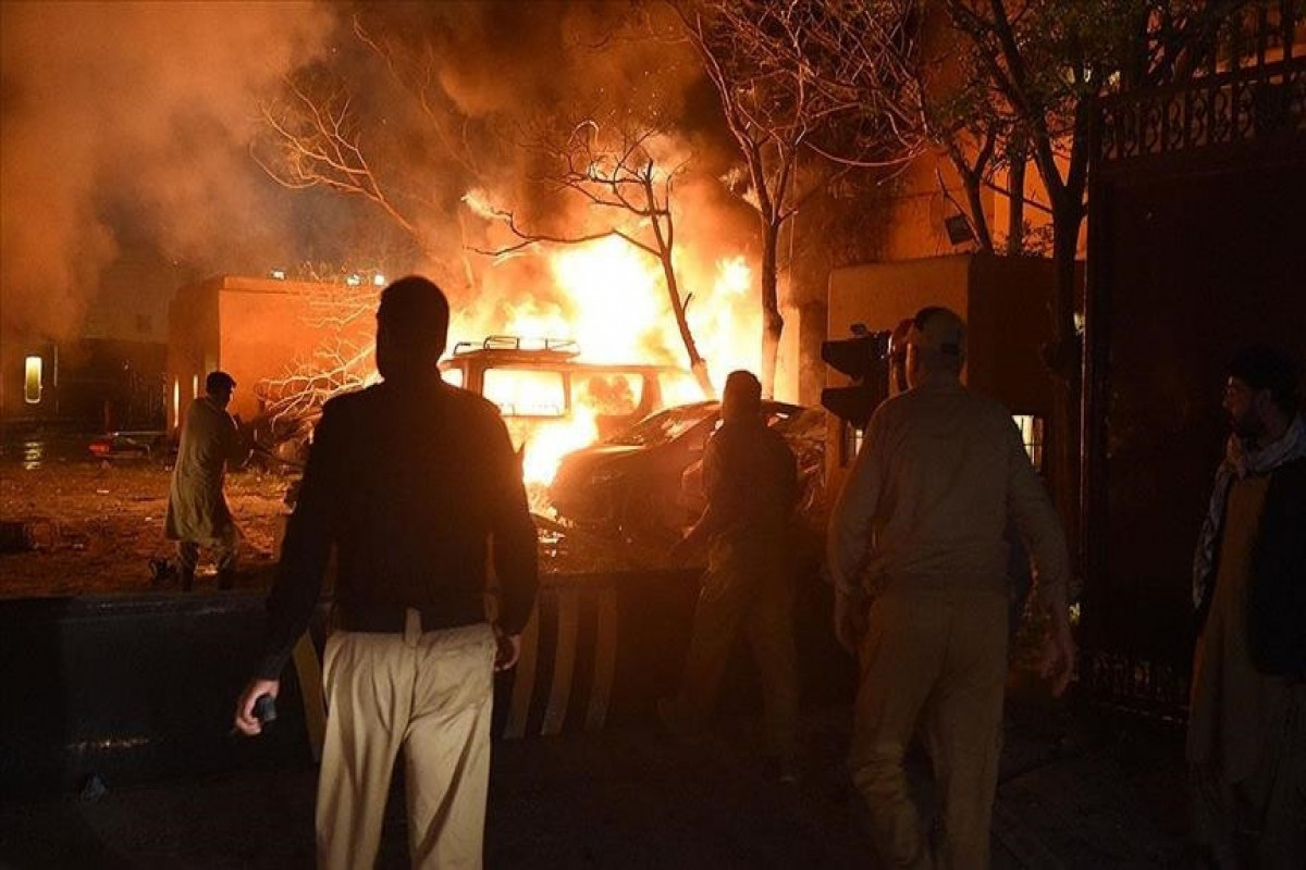 На заводе в Пакистане произошел взрыв