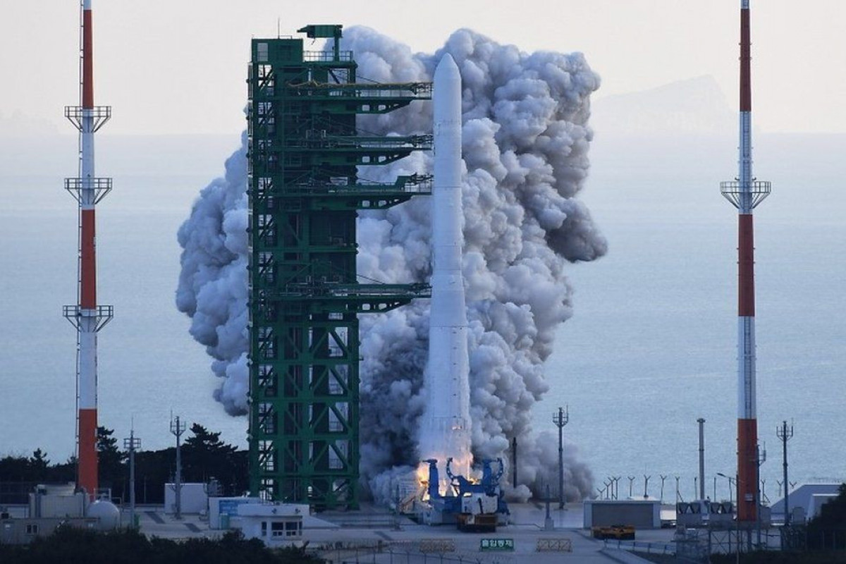 South Korea launches first homegrown space rocket Nuri