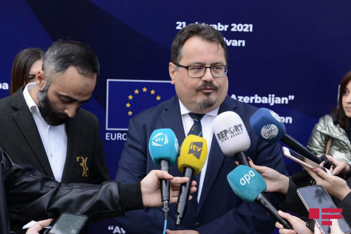 Head of the European Union (EU) Delegation to Azerbaijan Peter Michalko