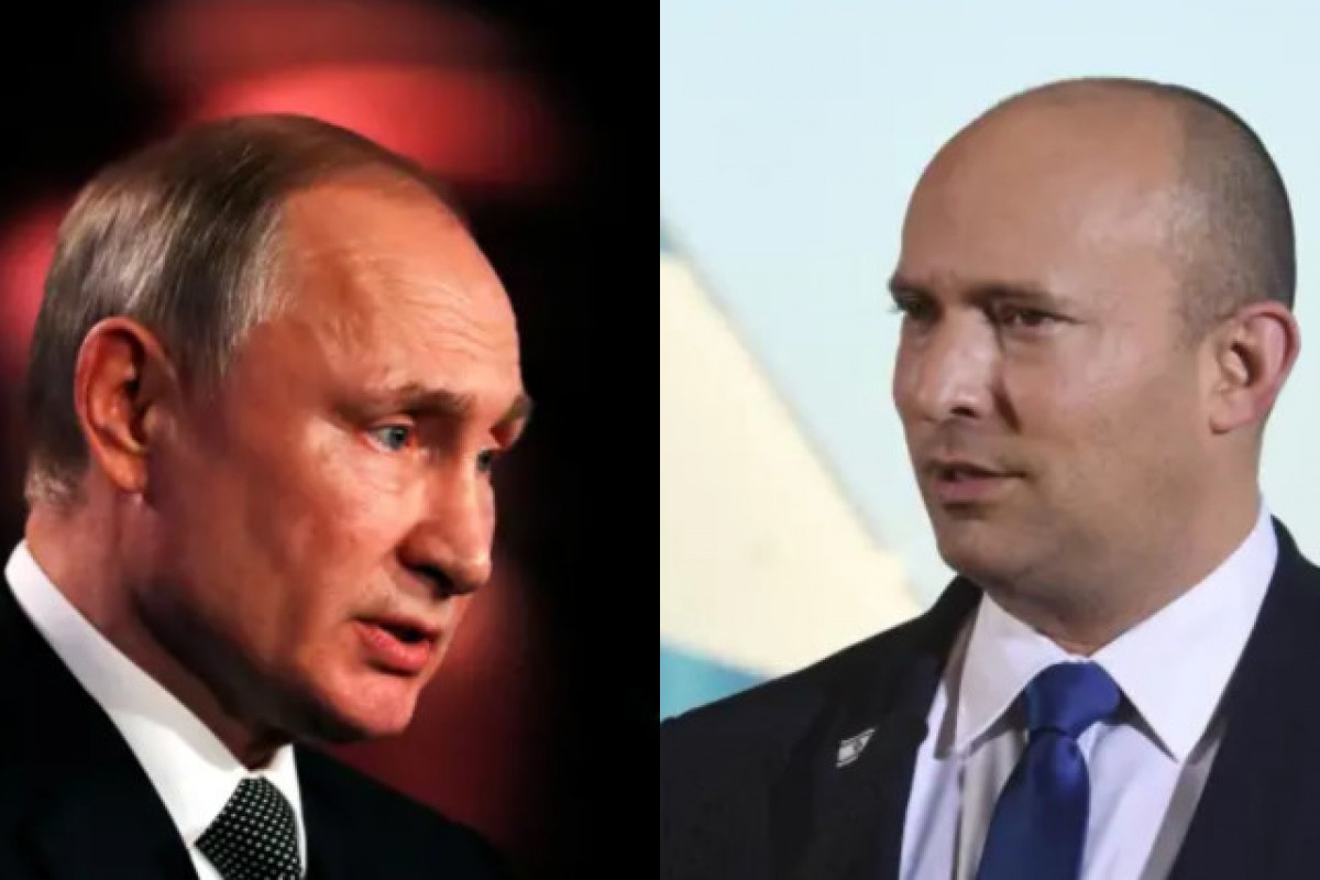 Vladimir Putin, Naftali Bennet