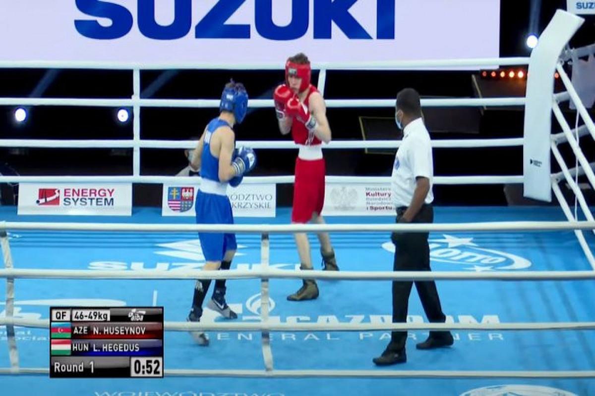 Azərbaycanın iki boksçusu Avropa çempionatında bürünc medal qazanıb