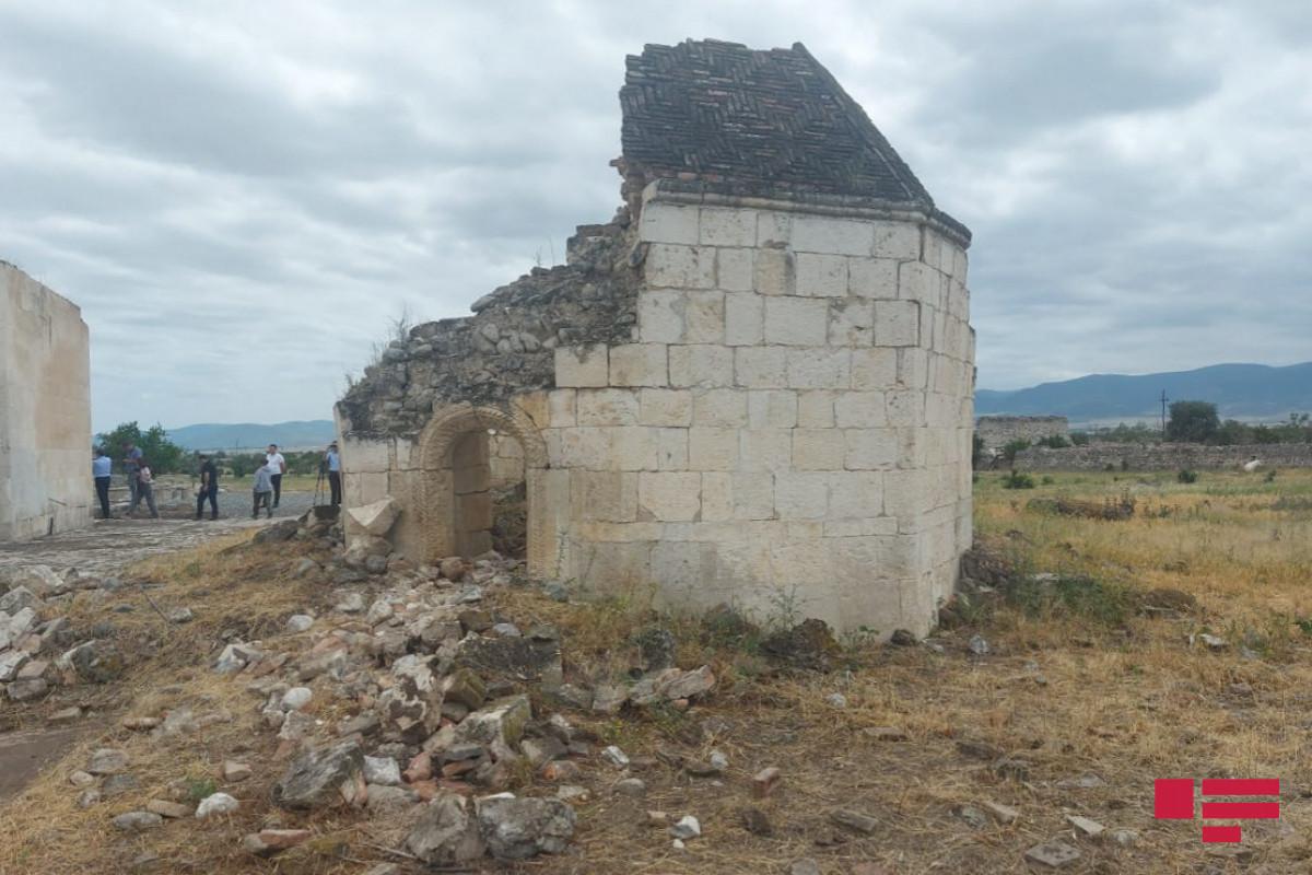 Azad olunmuş ərazilərdə indiyədək 385 tarix-mədəniyyət abidəsinə baxış keçirilib