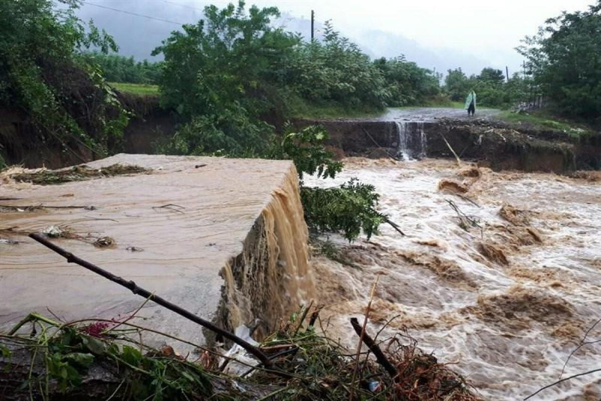 Наводнение в Иране