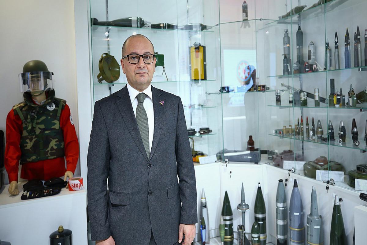 Chairman of the Board of the Mine Action Agency of the Republic of Azerbaijan (ANAMA) Vugar Suleymanov