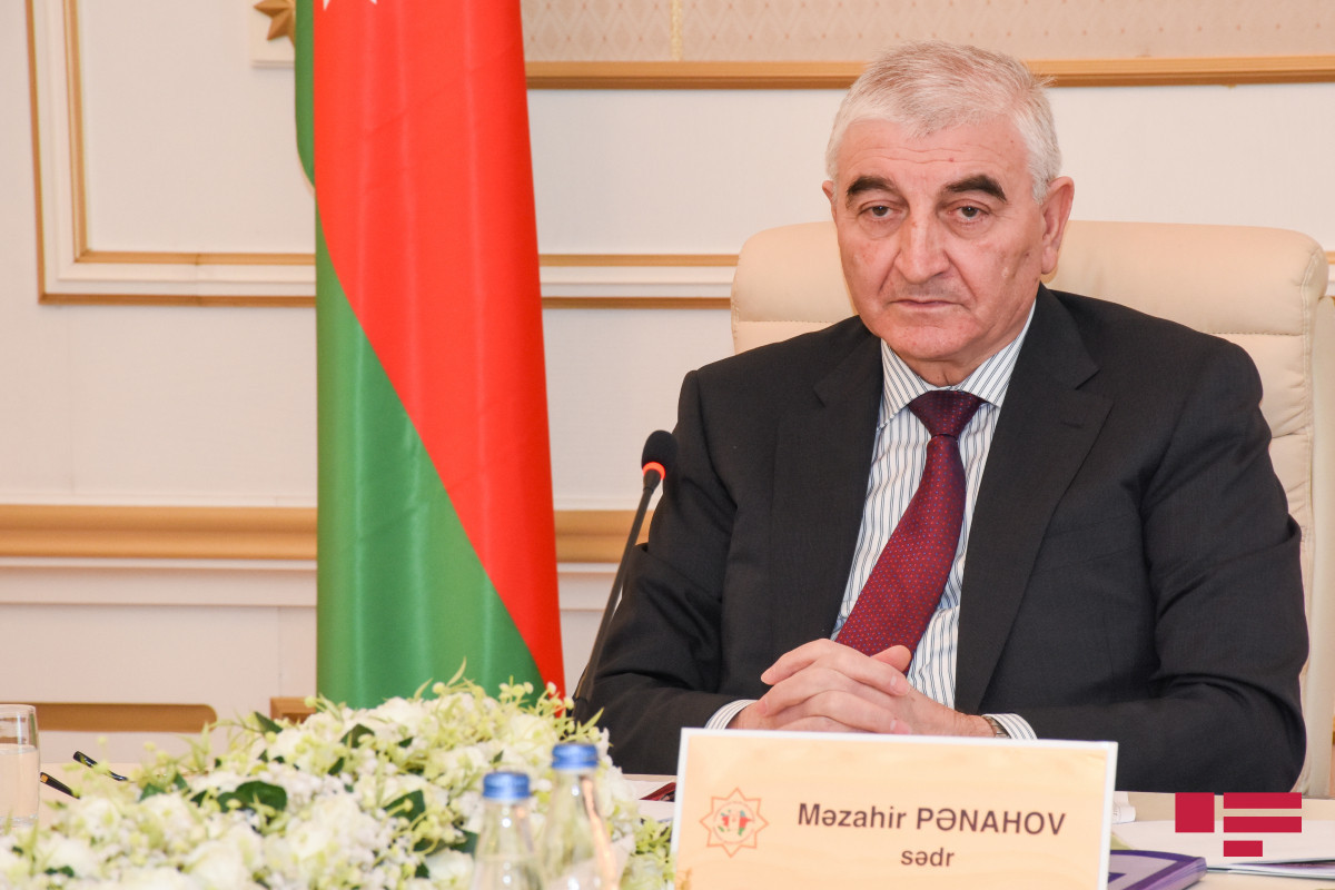 Chairman of Central Election Commission of Azerbaijan Mazahir Panahov