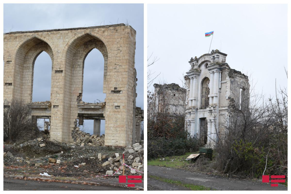 Будет проведена консервация зданий Агдамского Драмтеатра и издательства «Араз» в Физули