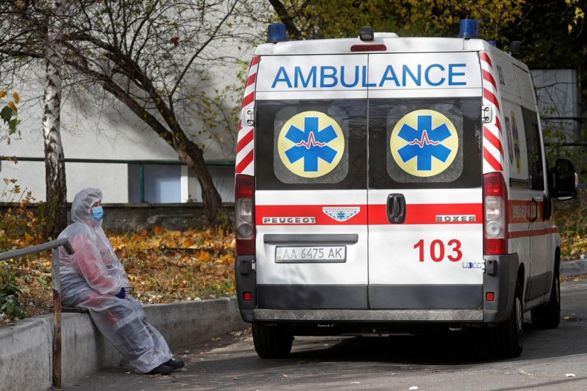Ukraine shuts schools as coronavirus death toll hits new record