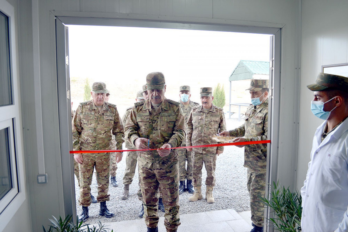 New military facilities commissioned in liberated territories