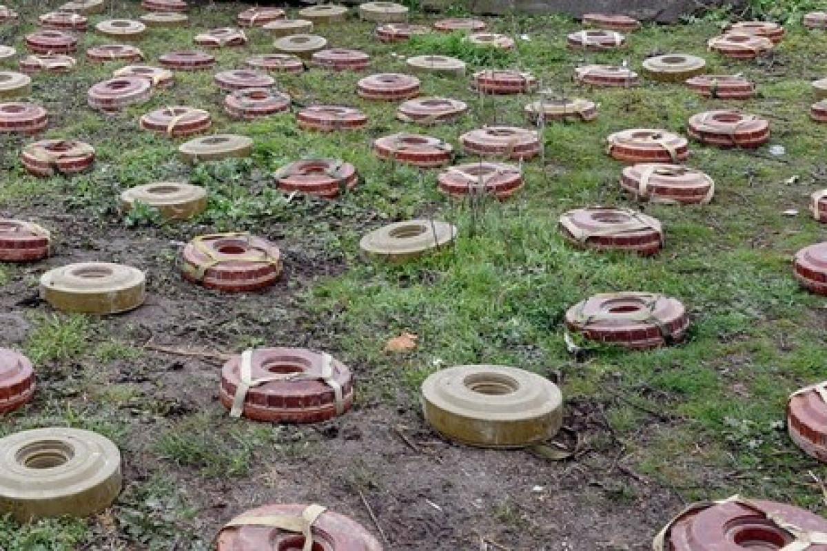 """В ГПС назвали количество мин и боеприпасов, обнаруженных на освобожденных от оккупации приграничных территориях -<span class=""""red_color"""">ФОТО"""