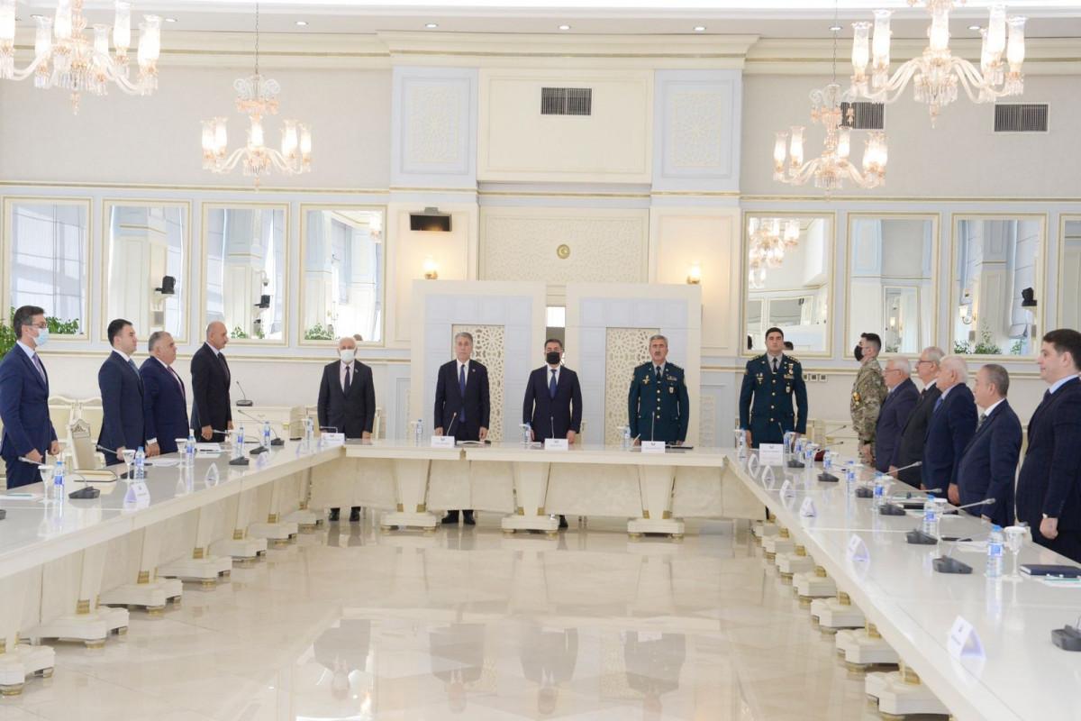 Конференция, посвященная первой годовщине Победы в Отечественной войне
