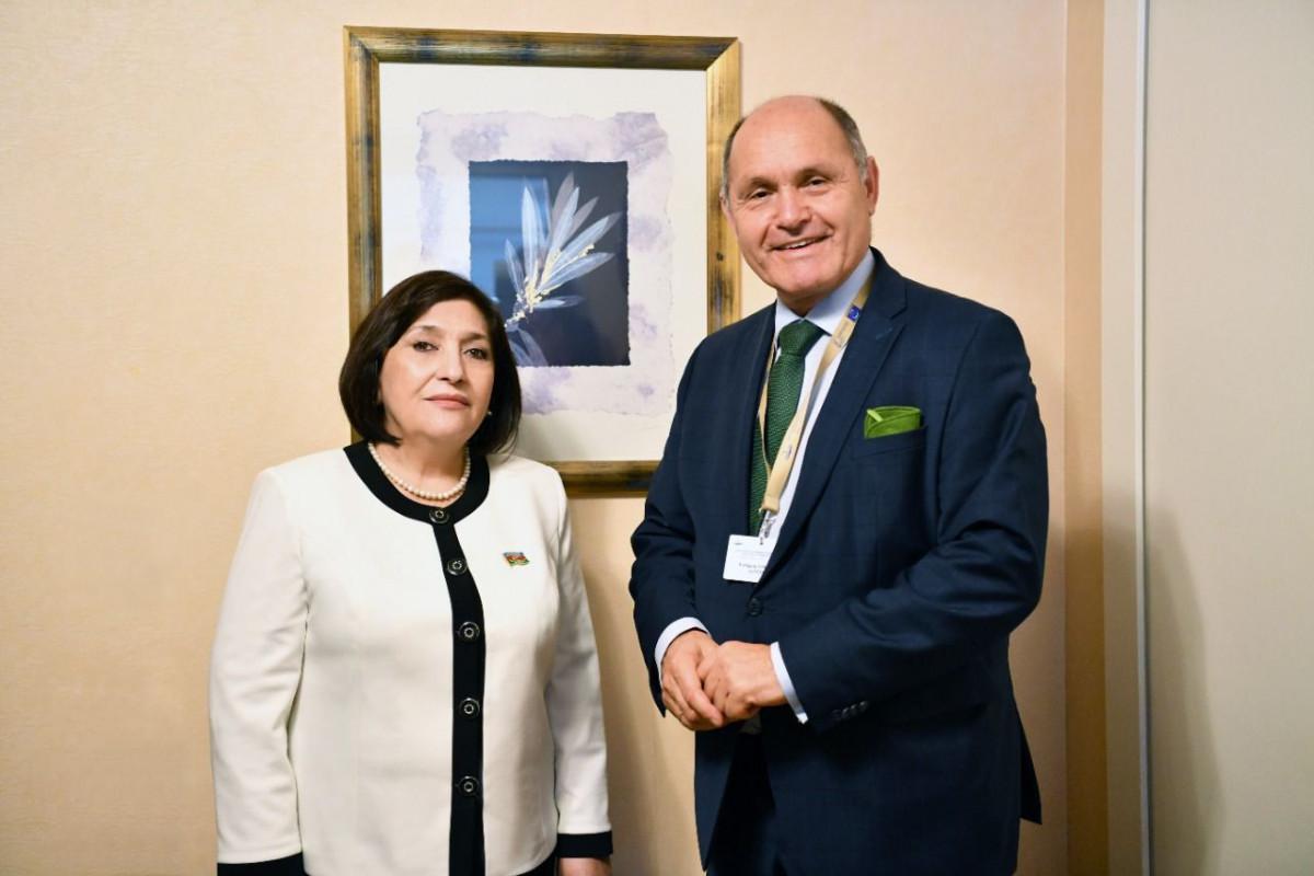Сахиба Гафарова встретилась с председателем Национального совета парламента Австрии