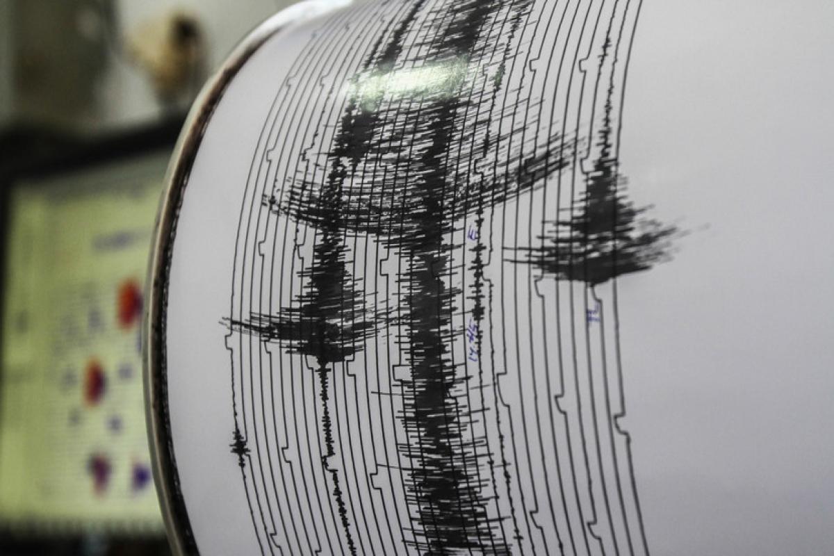 В России произошло землетрясение магнитудой 5,6