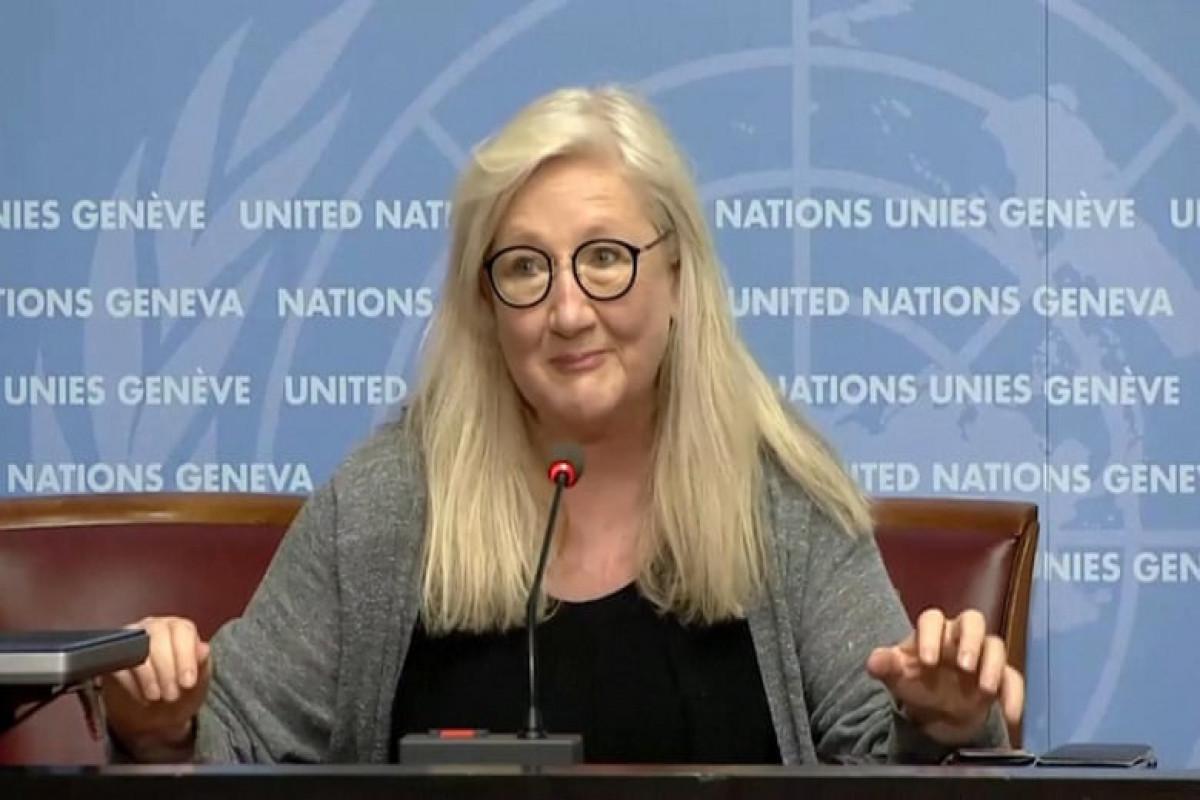 WHO's spokesperson Margaret Harris
