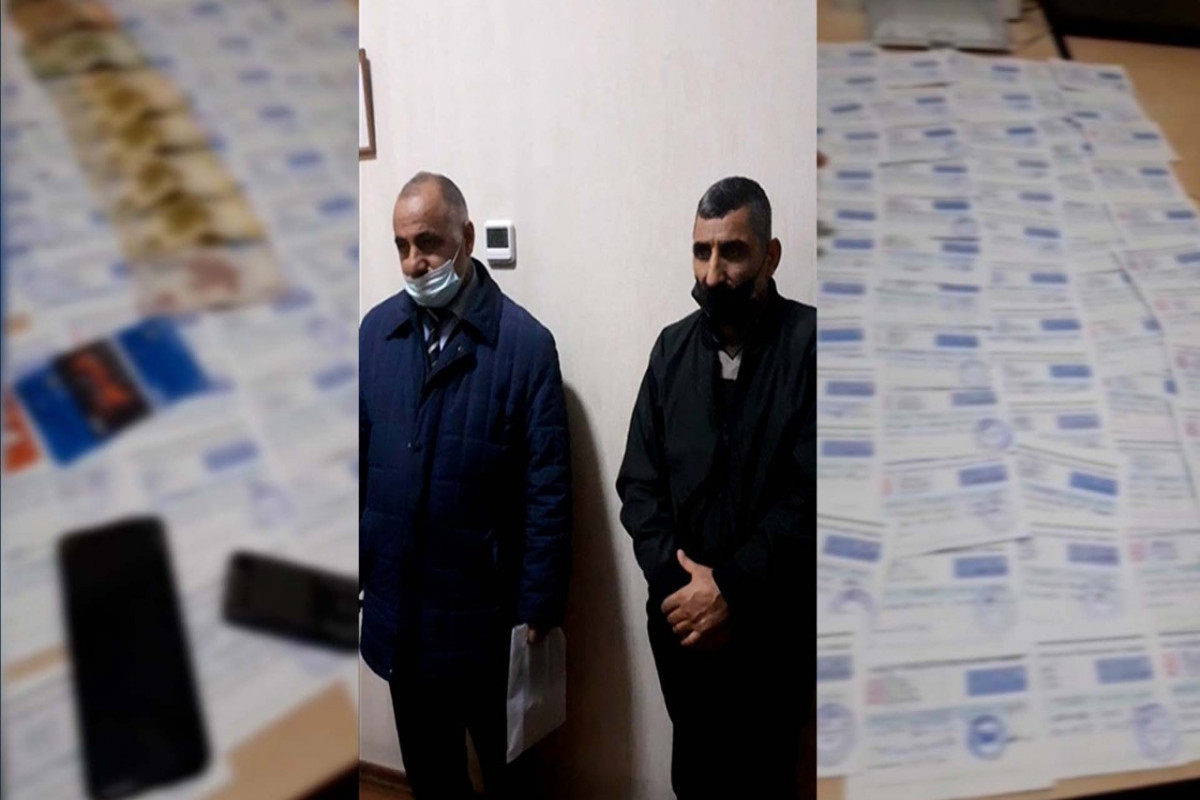 В Баку задержан продавец паспортов COVID-19