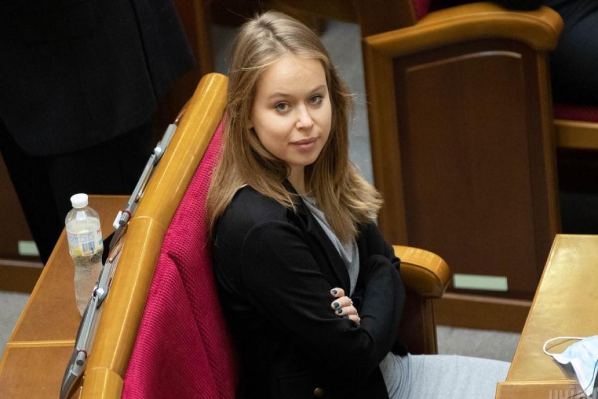 Девушка Саакашвили