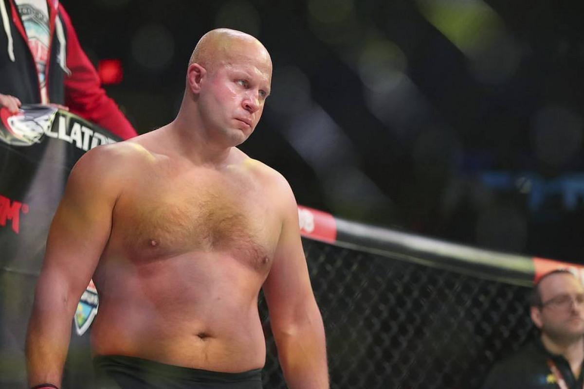 Russian mixed martial arts fighter Fedor Emelianenko