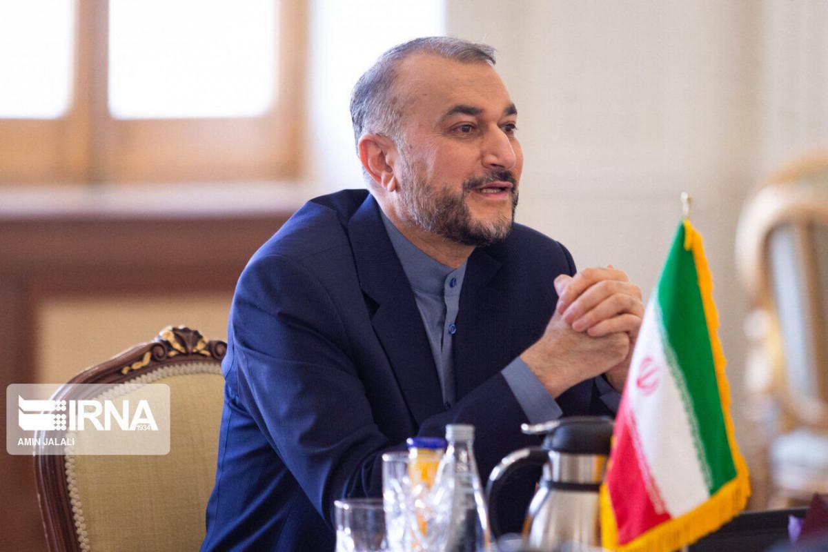 İran İslam Respublikasının xarici işlər naziri Hüseyn Əmir-Abdullahian