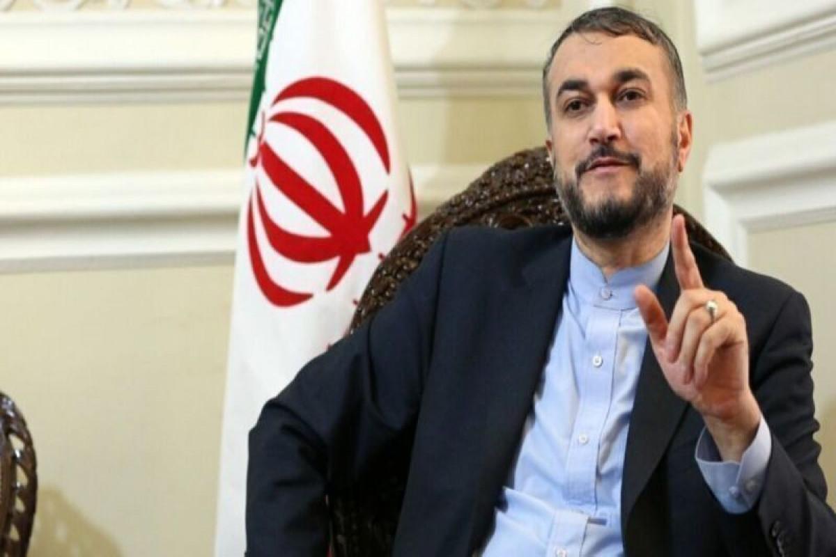 Iranian Foreign Minister Hussein Amir-Abdullahian