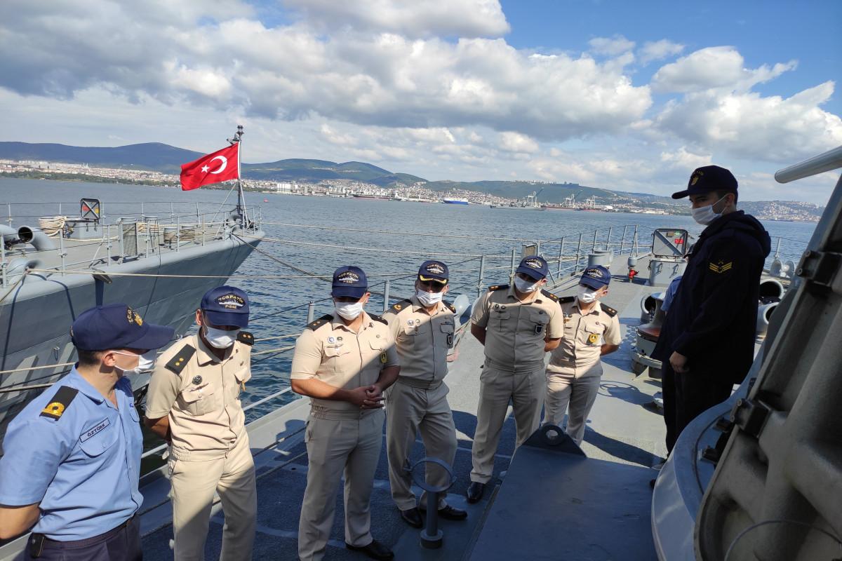 Азербайджанские моряки прошли стажировку в Турции