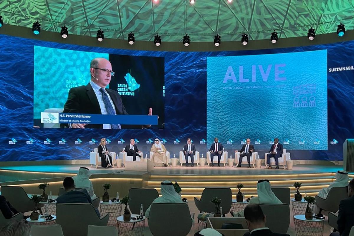 Парвиз Шахбазов принял участие в церемонии инаугурации инициативы «Зеленая Саудовская Аравия»