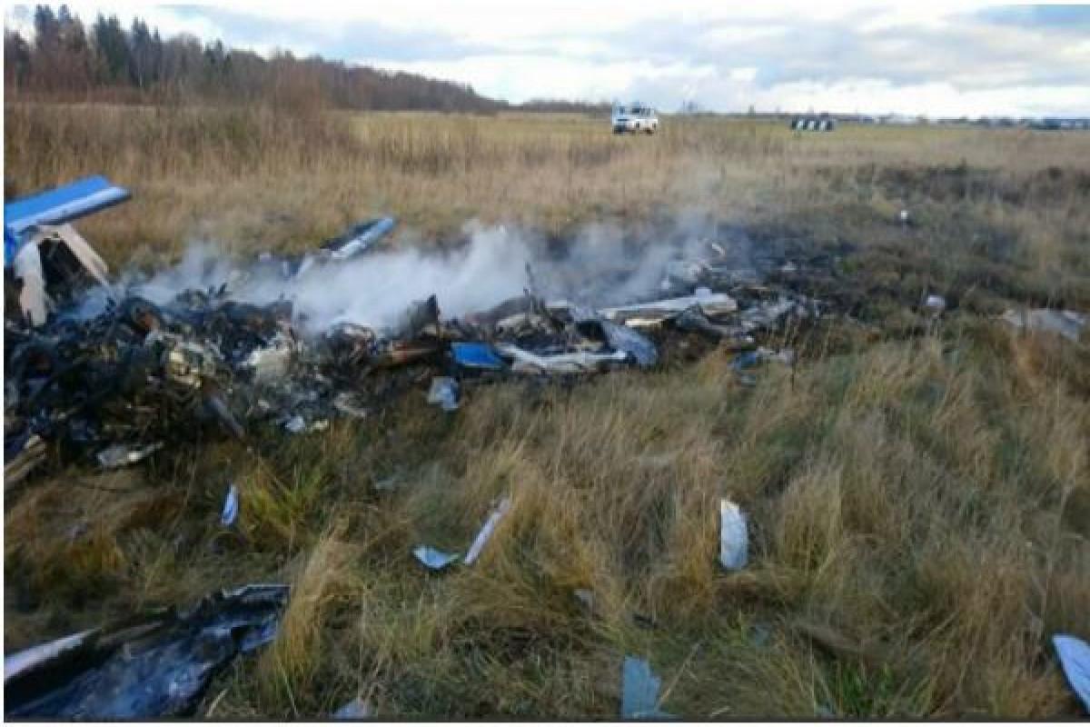 В России разбился высокоплан, погибли два человека