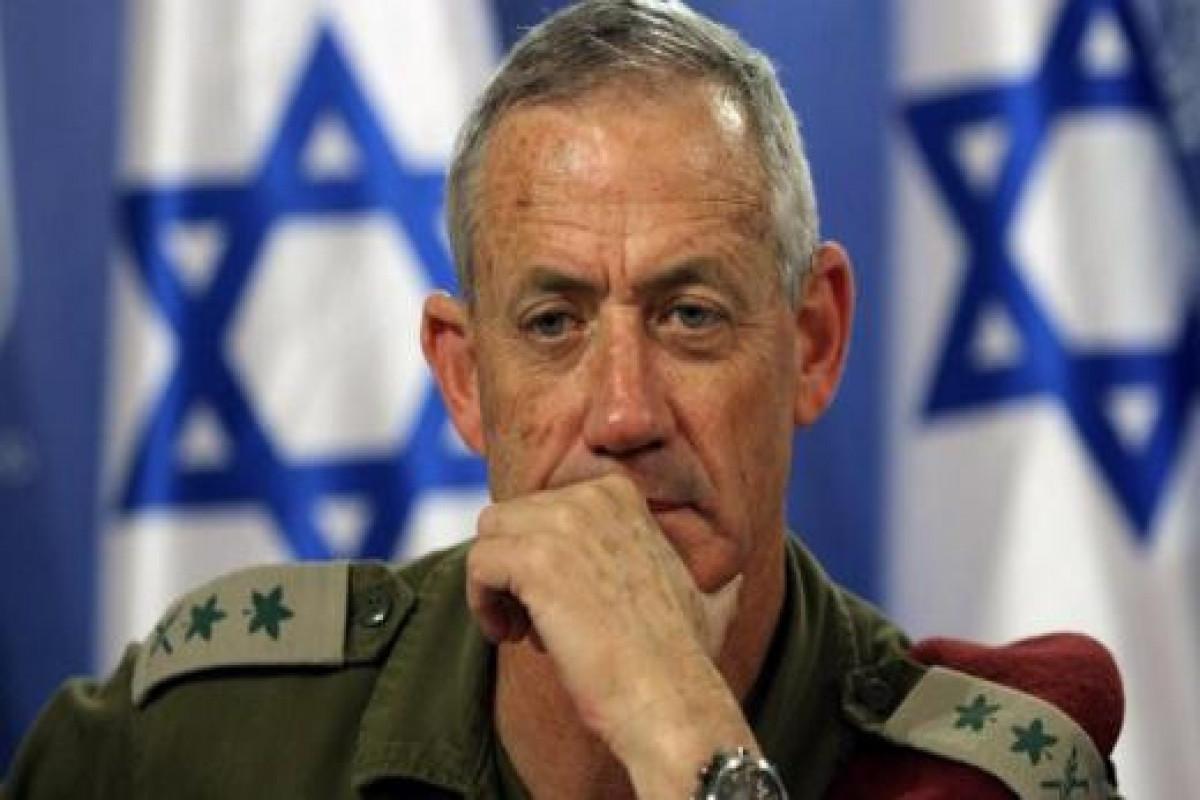 İsrailin müdafiə naziri Beni Gantz