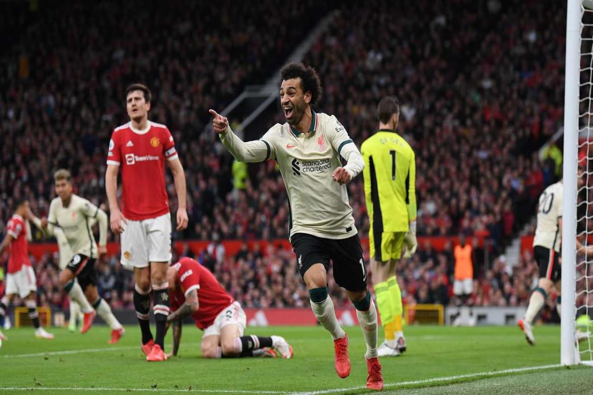 «Ливерпуль» в гостях разгромил «Манчестер Юнайтед» со счётом 5:0