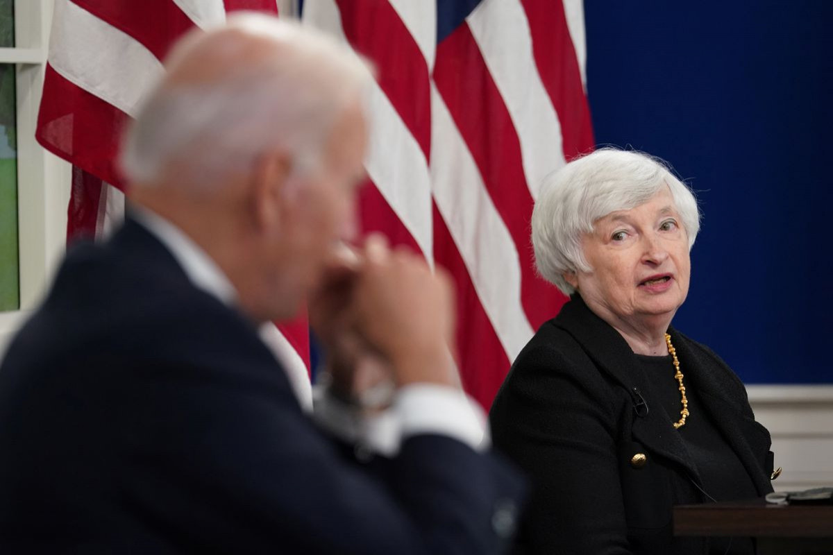 Yellen says U.S. is not losing control of inflation