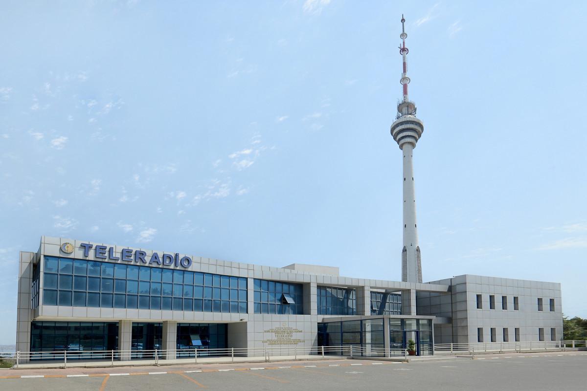 TV & radio broadcasting provided in Azerbaijan