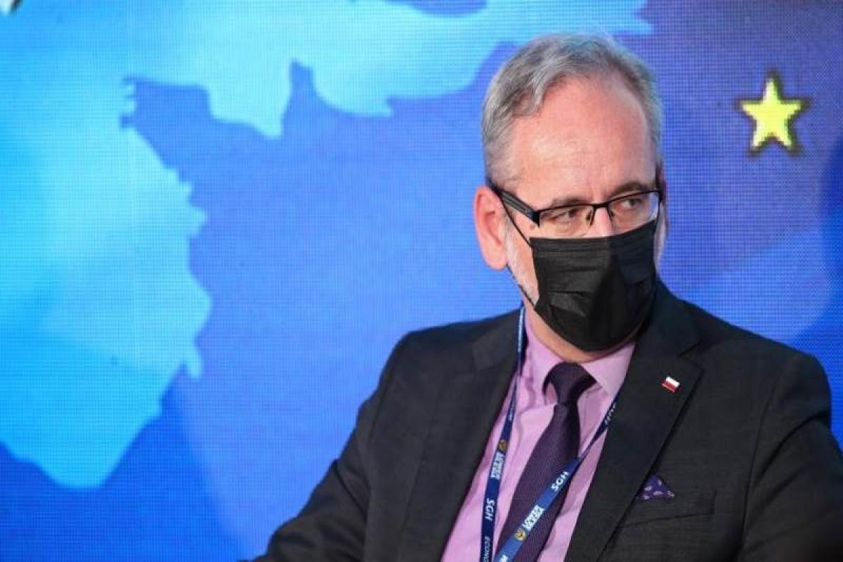 Polish Health Minister Adam Niedzielski