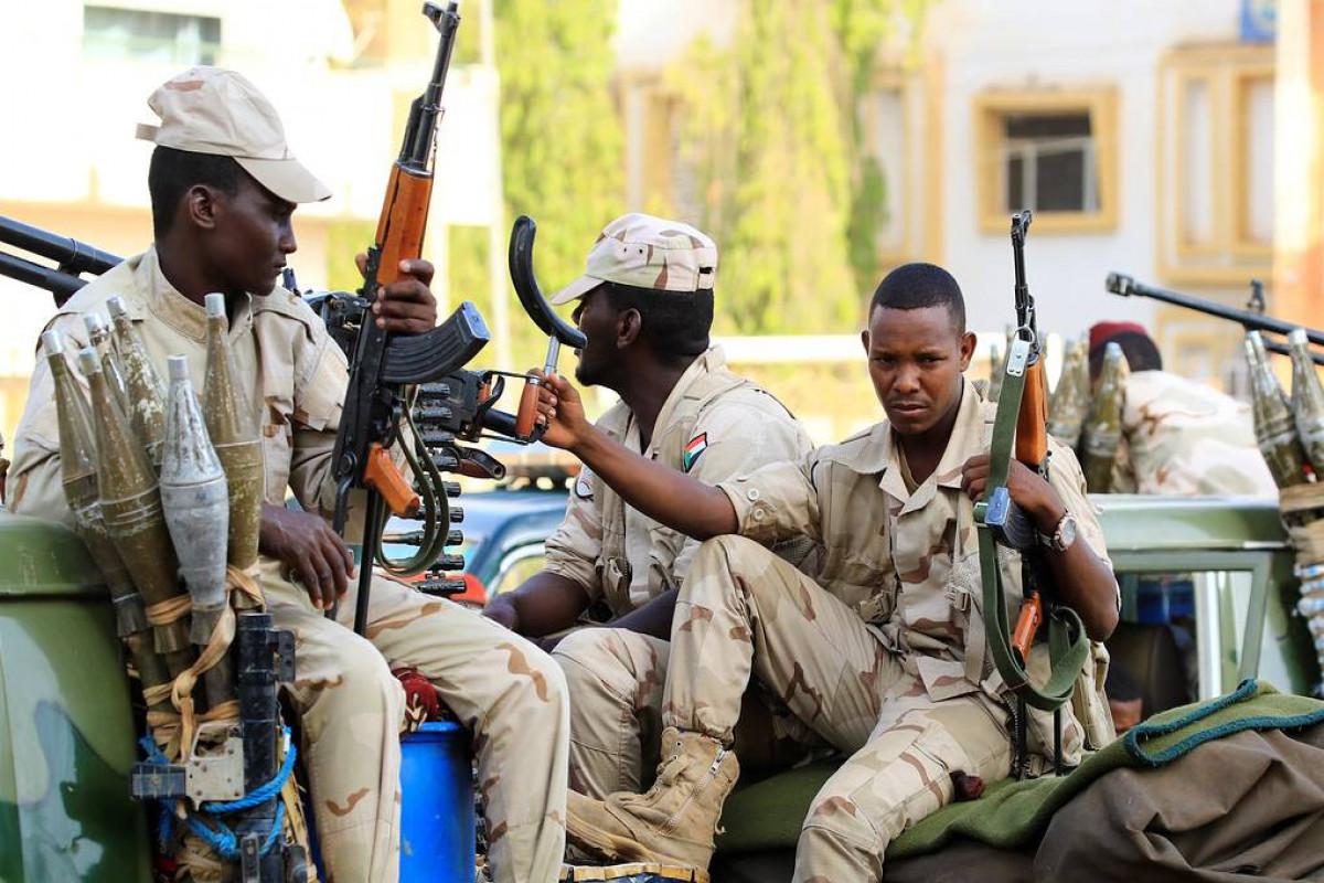 Солдаты суданской армии