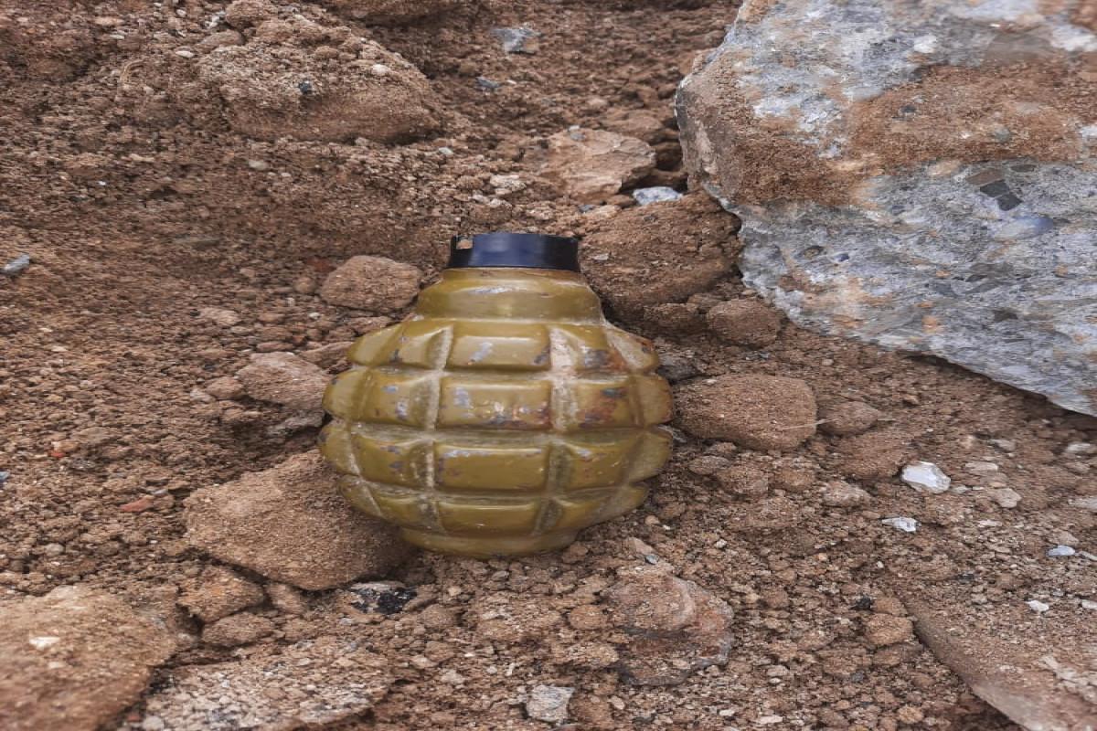 В Баку во время проведения земляных работ обнаружена граната