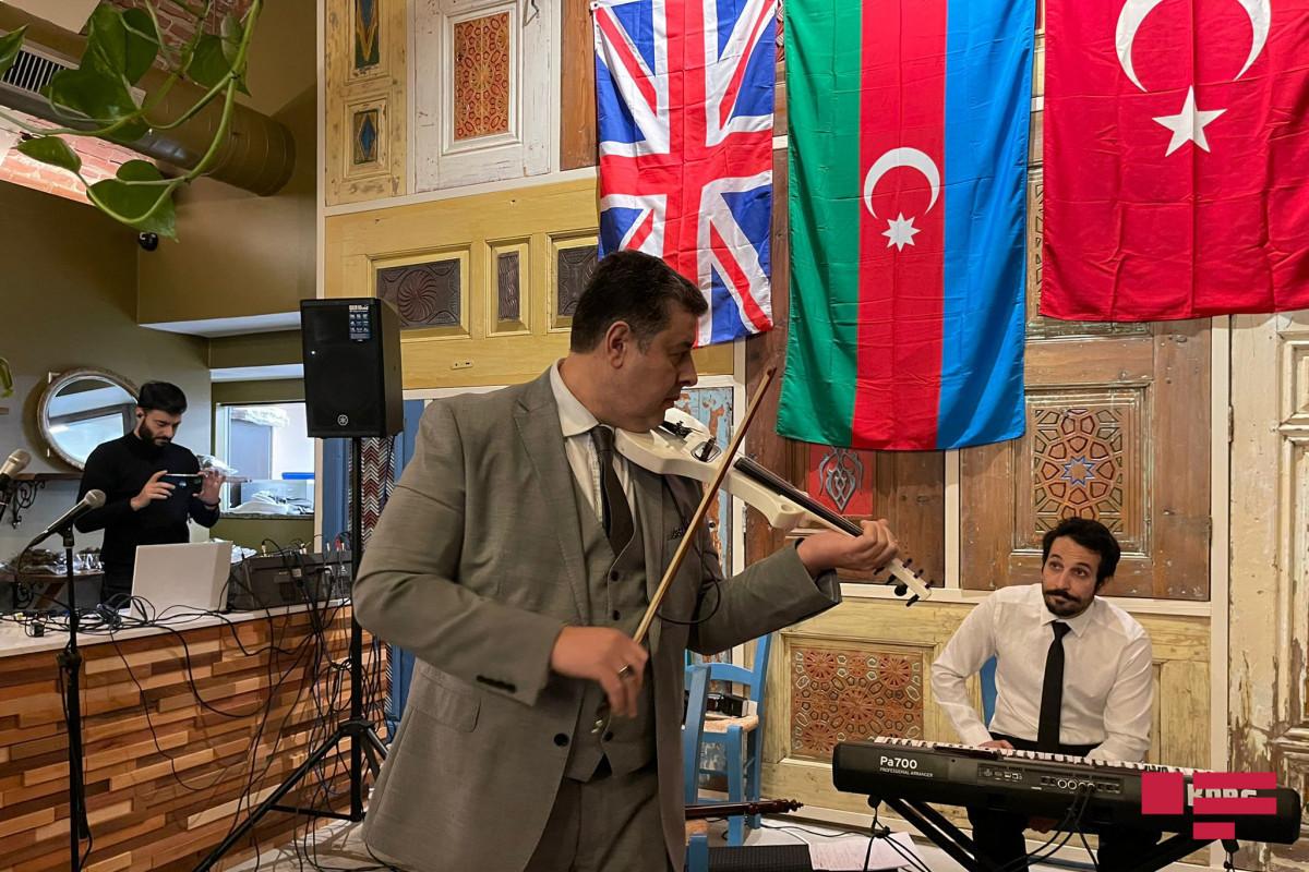 В Лондоне отметили годовщину восстановления независимости Азербайджана и победы в Отечественной войне