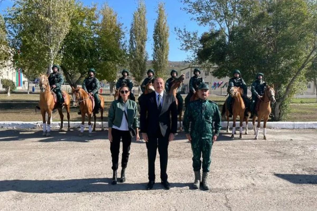 First Lady Mehriban Aliyeva shares photo from Gubadli district