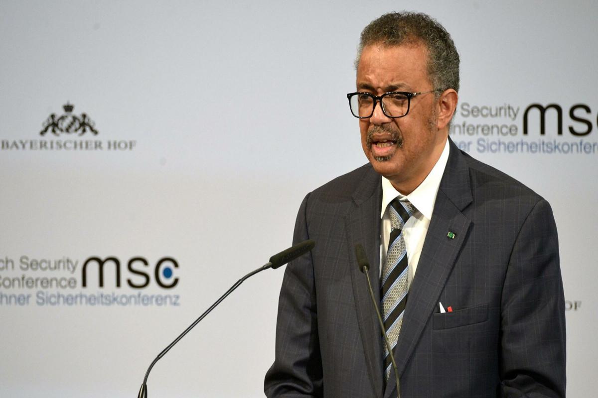 Генеральный директор Всемирной организации здравоохранения (ВОЗ) Тедрос Аданом Гебрейесус