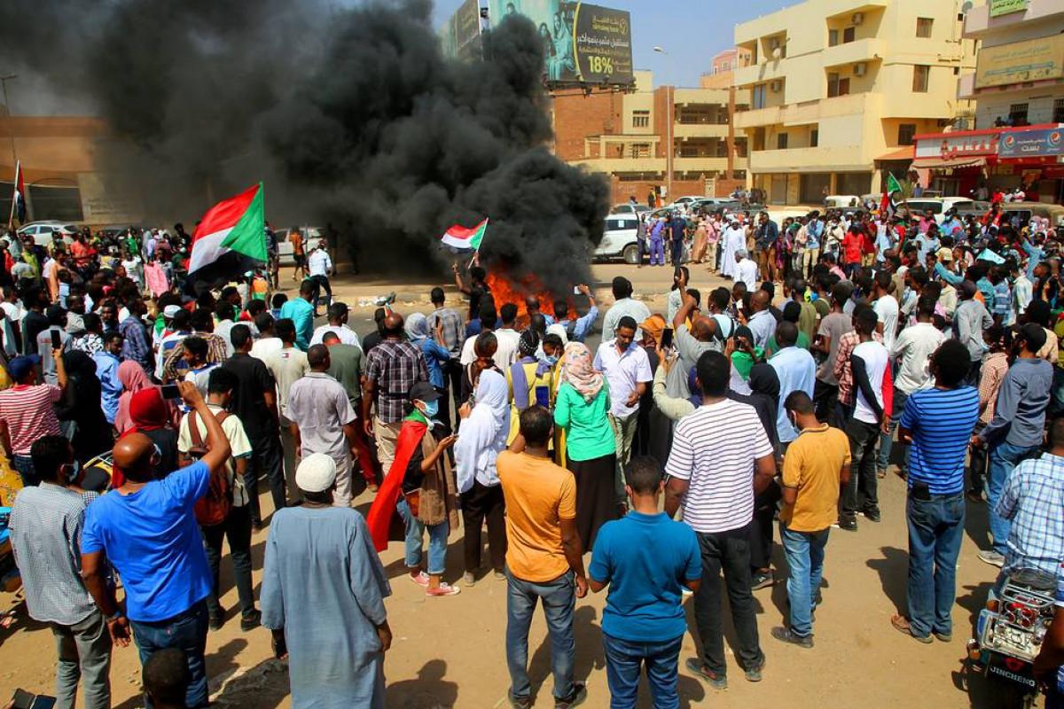Sudanda etirazlar aksiyasında 7 nəfər ölüb, 140 nəfər yaralanıb