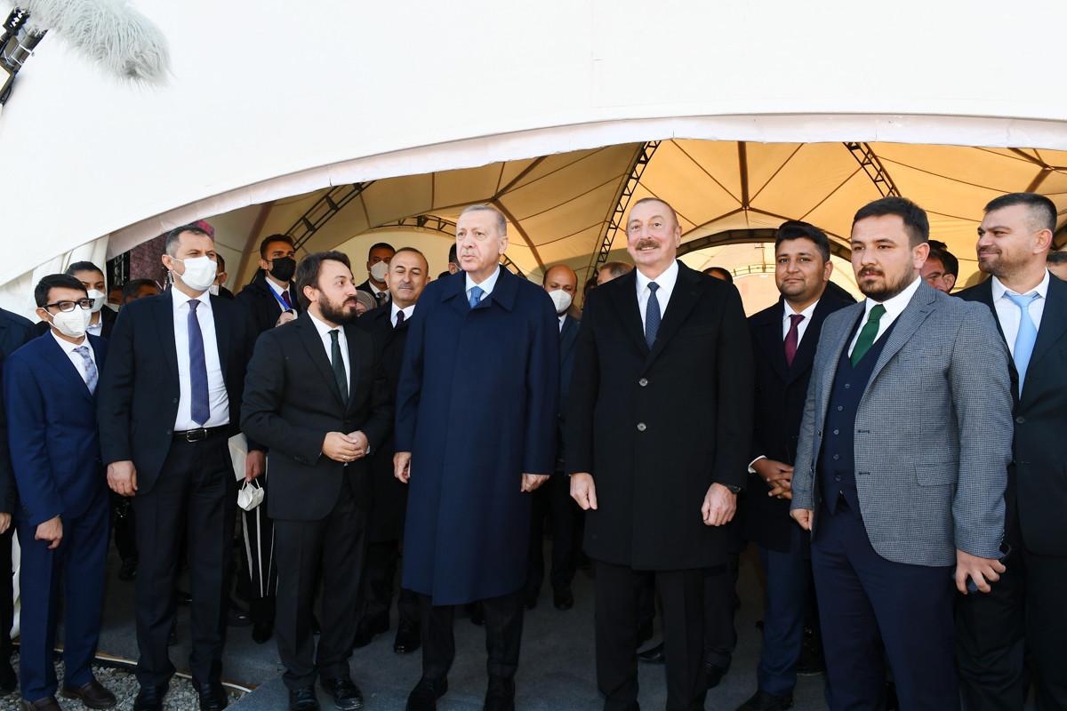 Президенты Азербайджана и Турции заложили фундамент проекта «Dost Aqropark» в Зангиланском районе