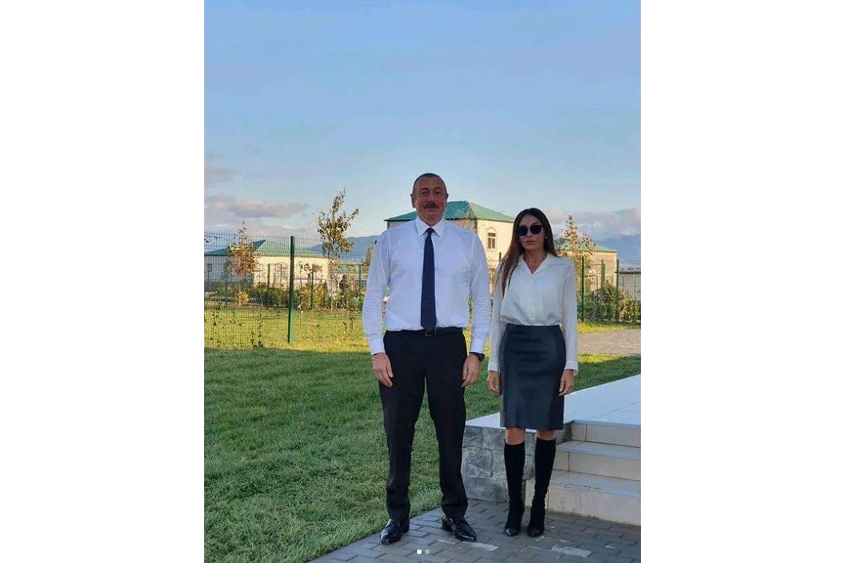Prezident İlham Əliyev, Birinci xanım Mehriban Əliyeva