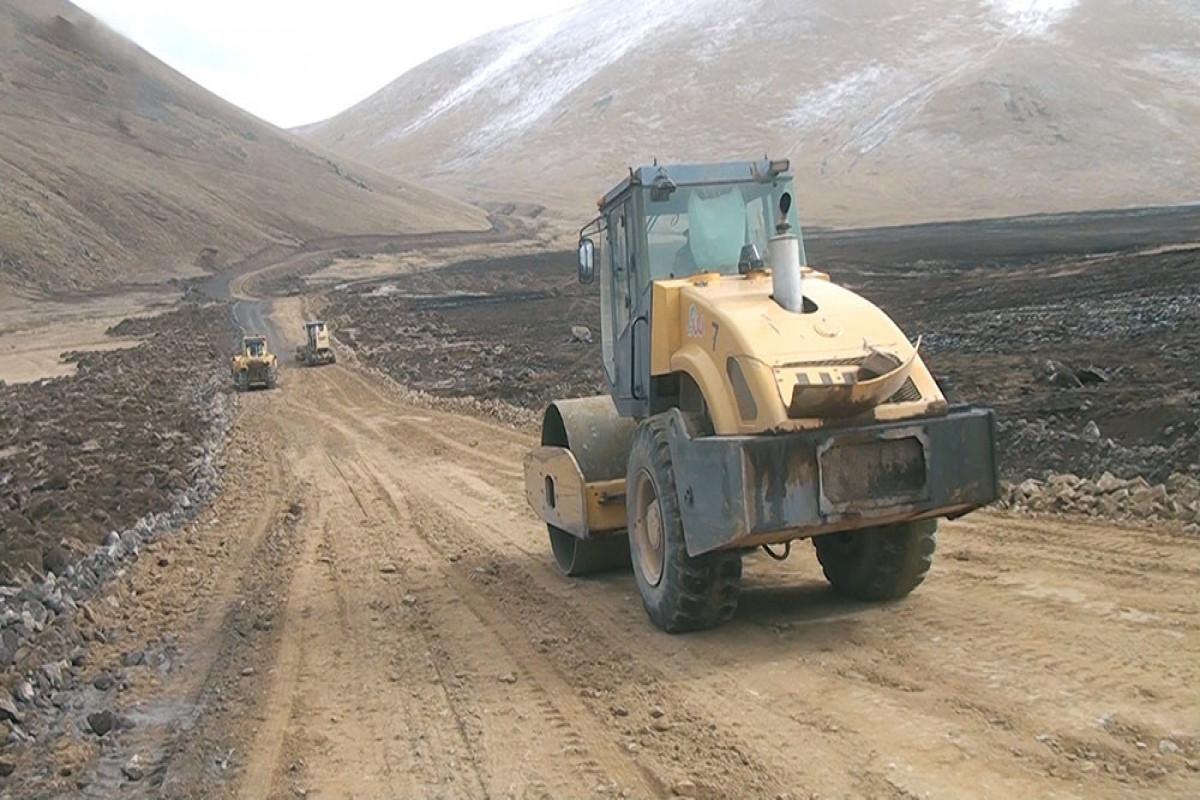 Engineering work is underway in the liberated territories
