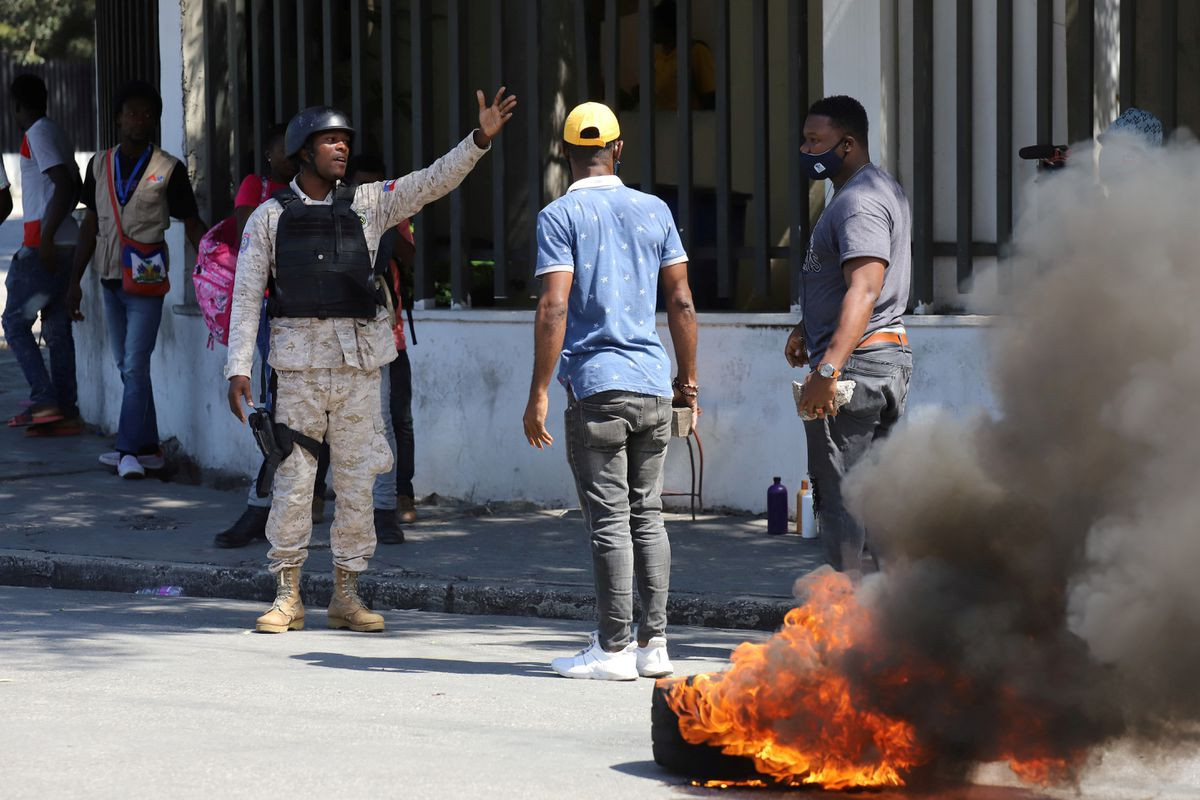 Haiti crippled by fuel shortages as gang leader demands prime minister resign
