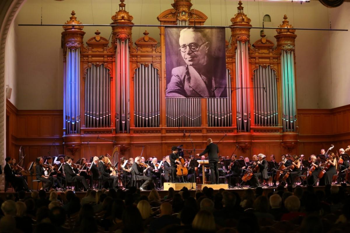 Moskvada Bakı Musiqi Akademiyasının 100 illiyinə həsr olunmuş konsert