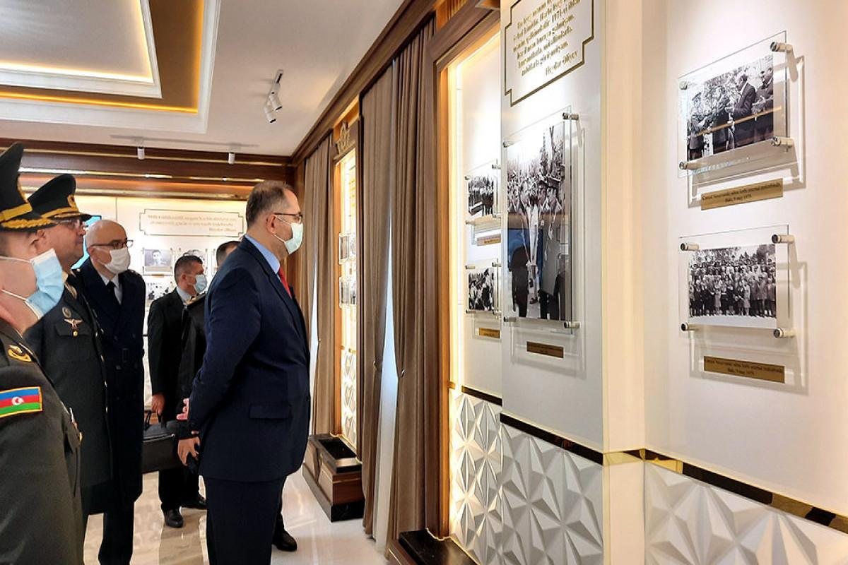 Представители Университета национальной обороны Турции побывали в специальных военно-учебных заведениях
