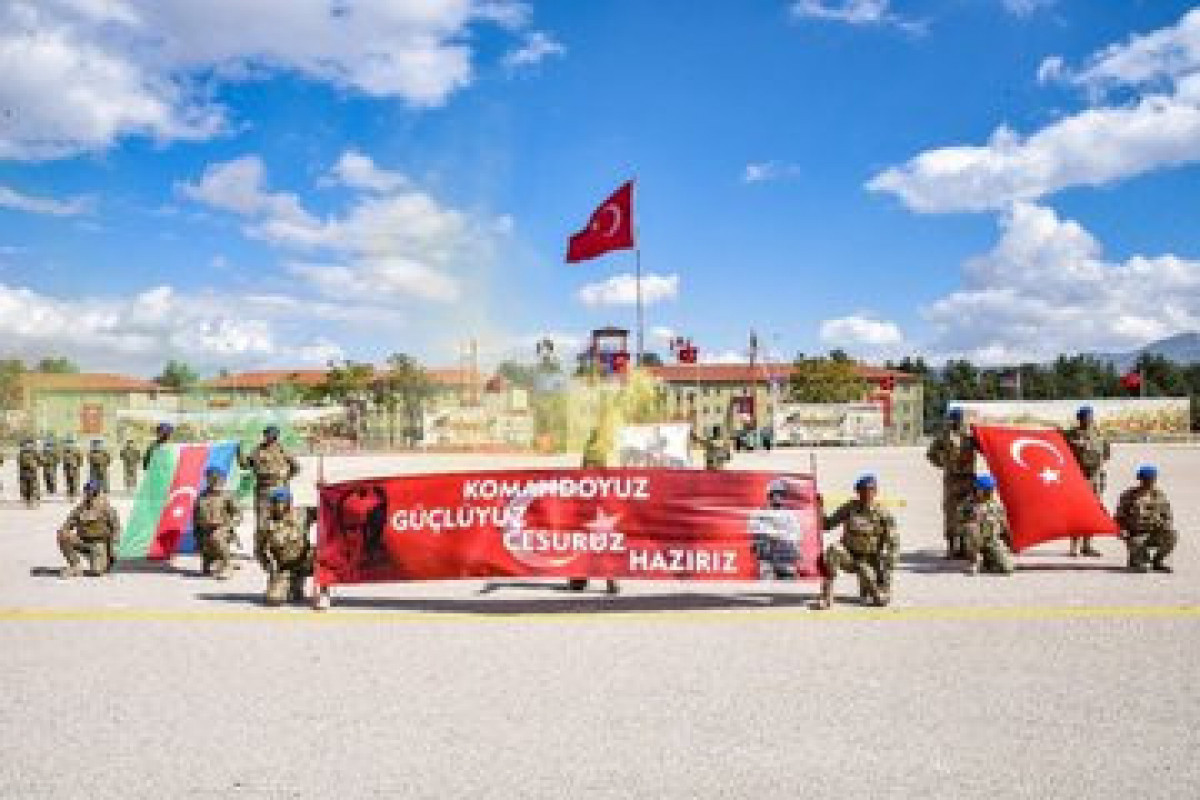 Azerbaijan's 383 military servicemen completed exercises in Turkey