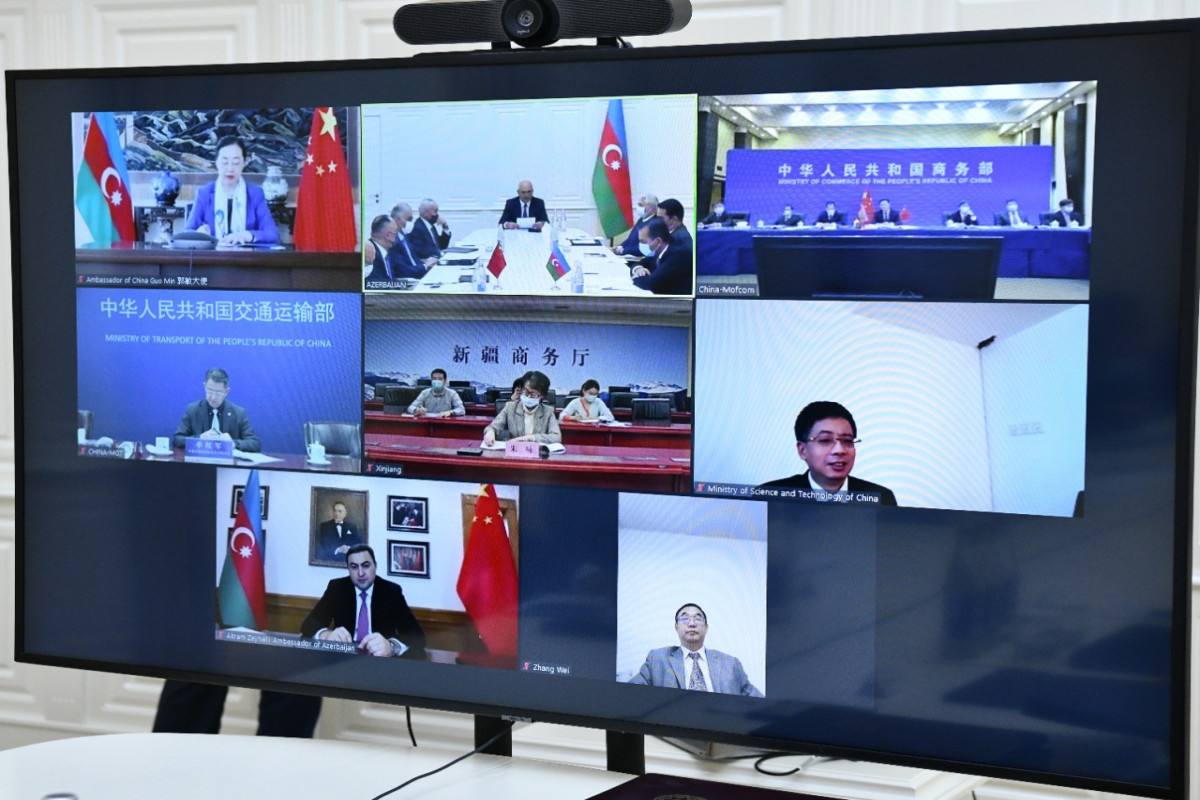 Establishing working groups between Azerbaijan and China was suggested