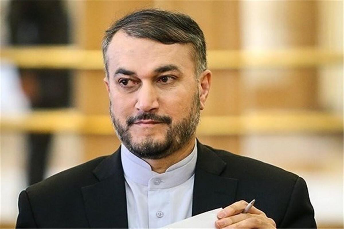 Iranian FM Hossein Amir-Abdollahian