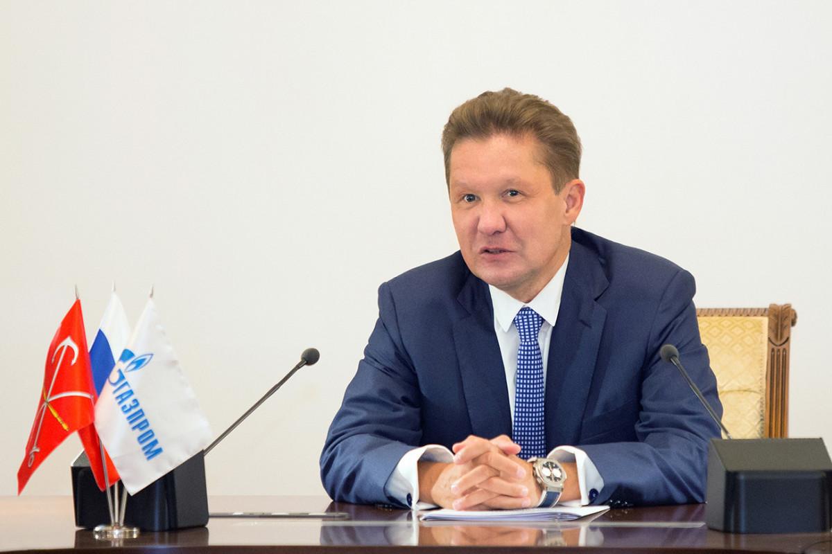 Gasprom CEO Alexei Miller