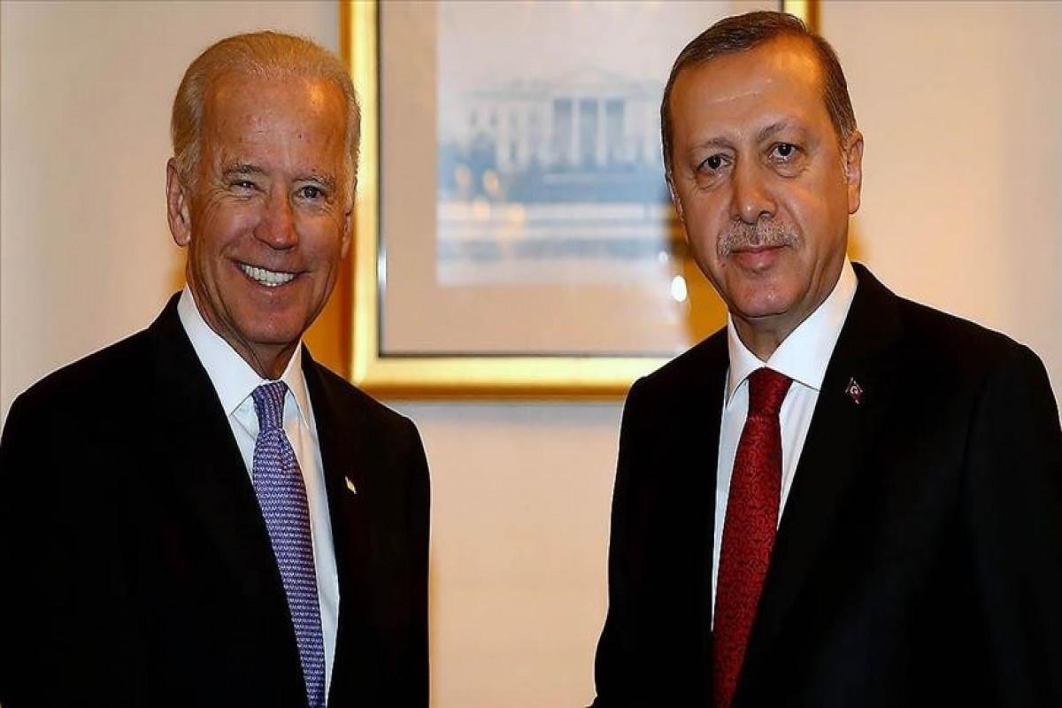 ABŞ Prezidenti Co Bayden və Türkiyə Prezidenti Rəcəb Tayyib Ərdoğan