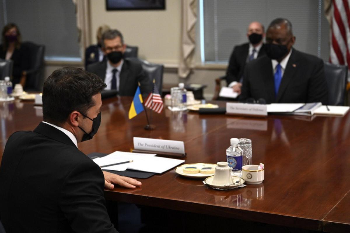 ABŞ Ukrayna ilə hərbi əməkdaşlığı genişləndirir