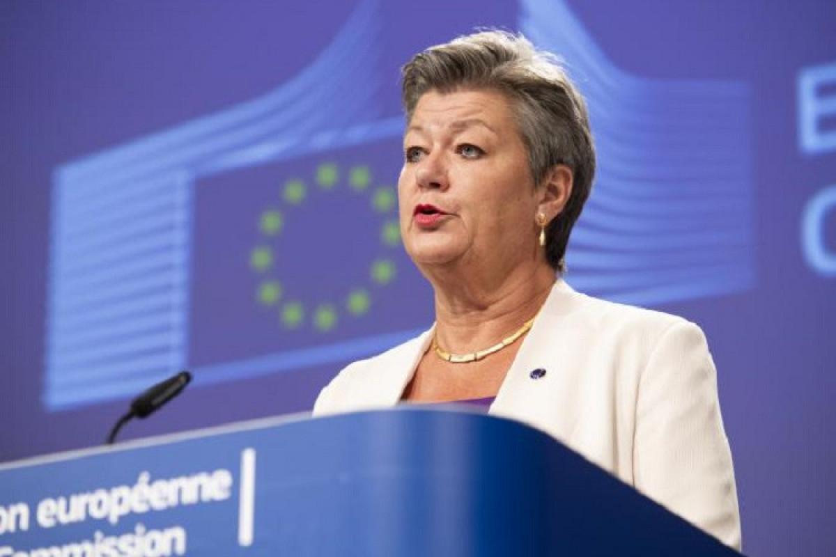 Avropa Komissiyasınındaxili işlər üzrə komissarı İlva Yohansson